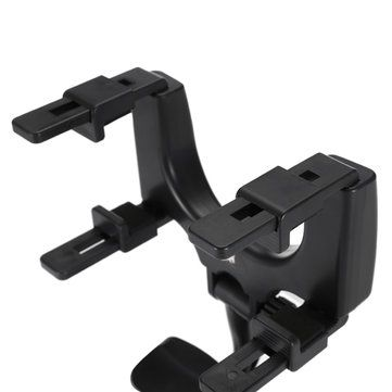 Bakeey™ ALT-5 360° Rotation Rearview Mirror Mount Phone Holder for Phone 3.5-5.5 inches Sale - Banggood.com