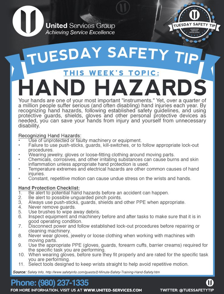 17 best Hand Safety images on Pinterest | Safety tips ... |Hand Safety Tips