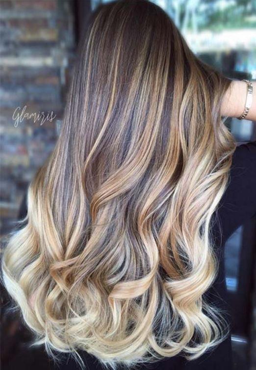 Uzun Katli Sac Modelleri 2019 My Hair Balayage Hair Hair Color