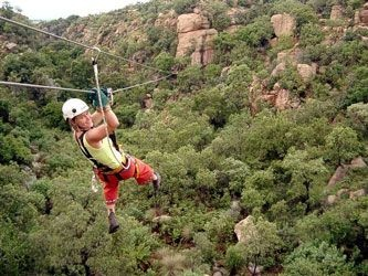 Magaliesburg Canopy Tour -The Magaliesburg Canopy Toure is a unique eco-adventure that takes clients on a tour down the spectacular Ysterhout Kloof, set in the ancient Magaliesberg Mountains. For more information click here http://www.magaliescanopytour.co.za/
