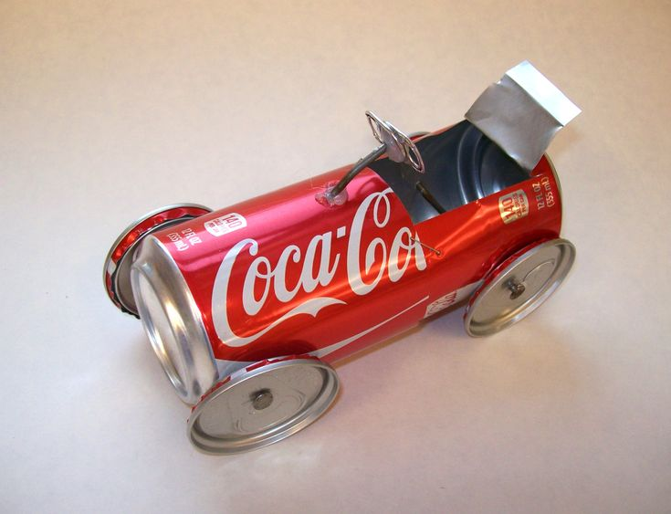 Image Result For What Can I Build With An Empty Coke Box