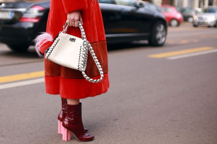 The chic set around the Italian city during fashion week.