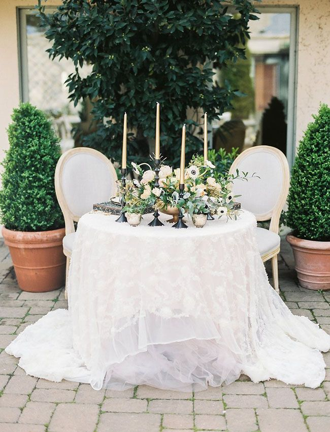 Parisian Inspired Tablescape