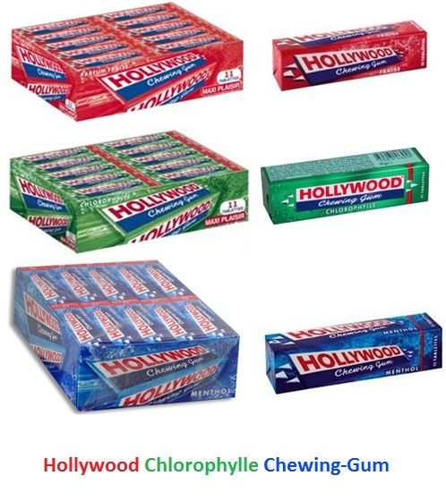 HOLLYWOOD CHEWING GUM - 1 Pallet - Belgique - Espaceagro | bonbons ...