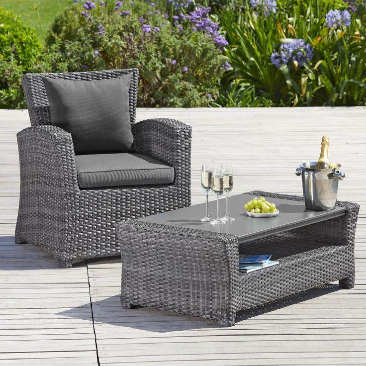Sofa-Tisch Hamilton (106x58,5)   Polyrattan tisch, Outdoor ...