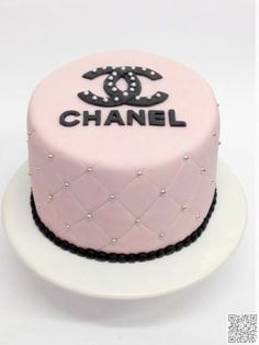 5. #Classy Chanel - #These #Fashion #Inspired Cakes Will Make You #Drool ... → Fashion #Shoes