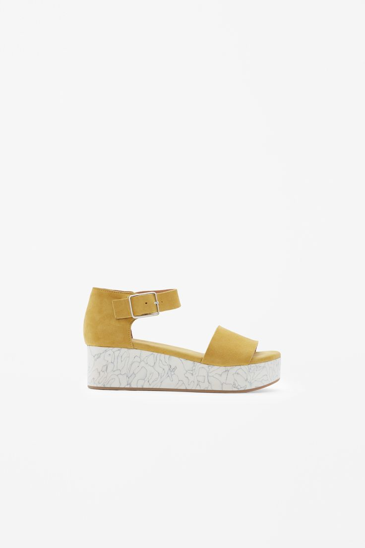COS | Flatform with marble effect sole