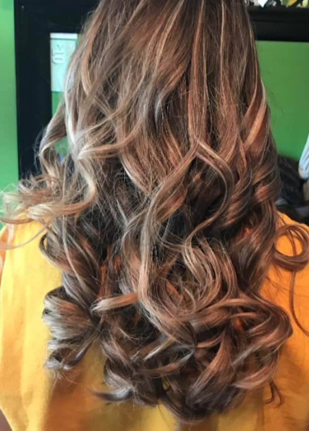 """""""Best hair straightener and hair curler I've ever used. My hair is long and curling irons don't work. This hair straightener always keeps my curls long lasting."""" —Patrice"""
