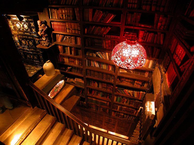 Library house on the rock wisconsin photo via wisconsin more