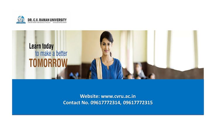 Get Admission into Best Recognised University in India, see more at www.cvru.ac.in