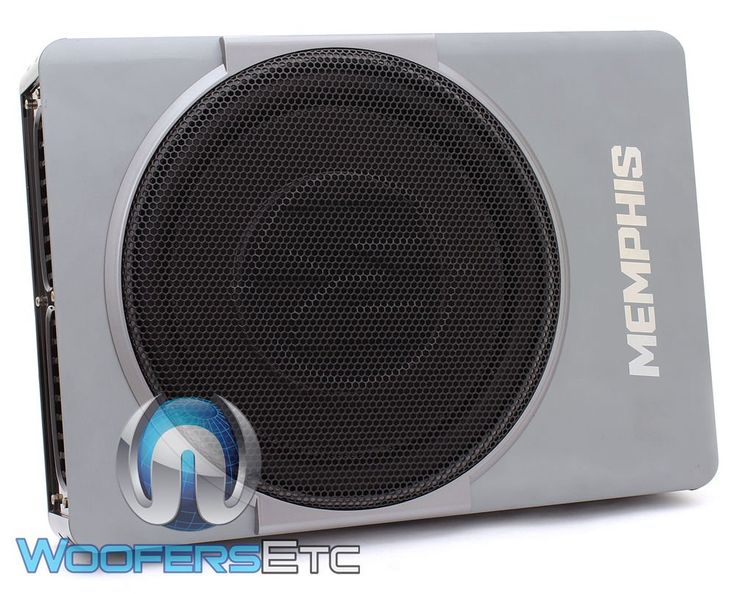 """Memphis Audio SA110SP 10"""" Nanoboxx Bass System. Power Handling: 300 Watts Max 