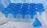 Artic Ice Shots. Crea tus shots de hielo con estos vasos con tapa, y sirve tus shots de una forma distinta y novedosa