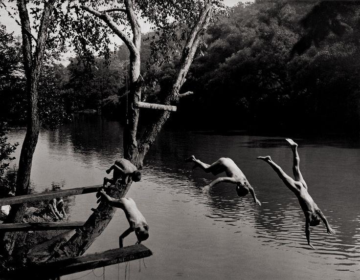 boy swimming river - photo #44