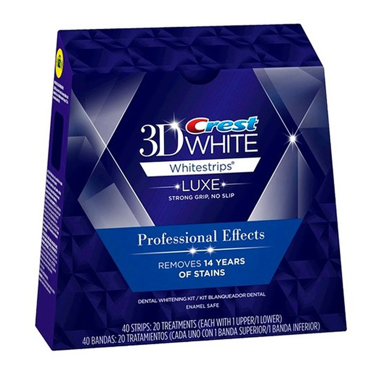 Very Effective: Whitening Strips http://www.womenshealthmag.com/beauty/effective-teeth-whitening-treatments/very-effective-whitening-strips