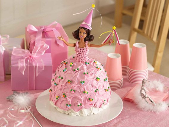 how to make barbie cake with clay