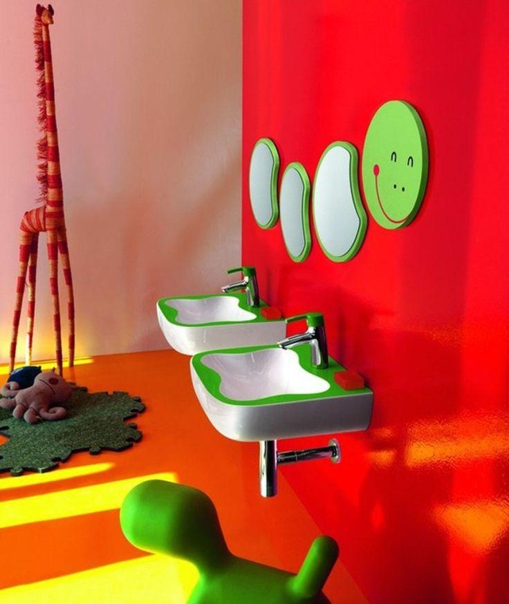 46 Awesome U0026 Dazzling Kidsu0027 Bathroom Design Ideas 2017. Modern Bathroom  FurnitureFurniture ...