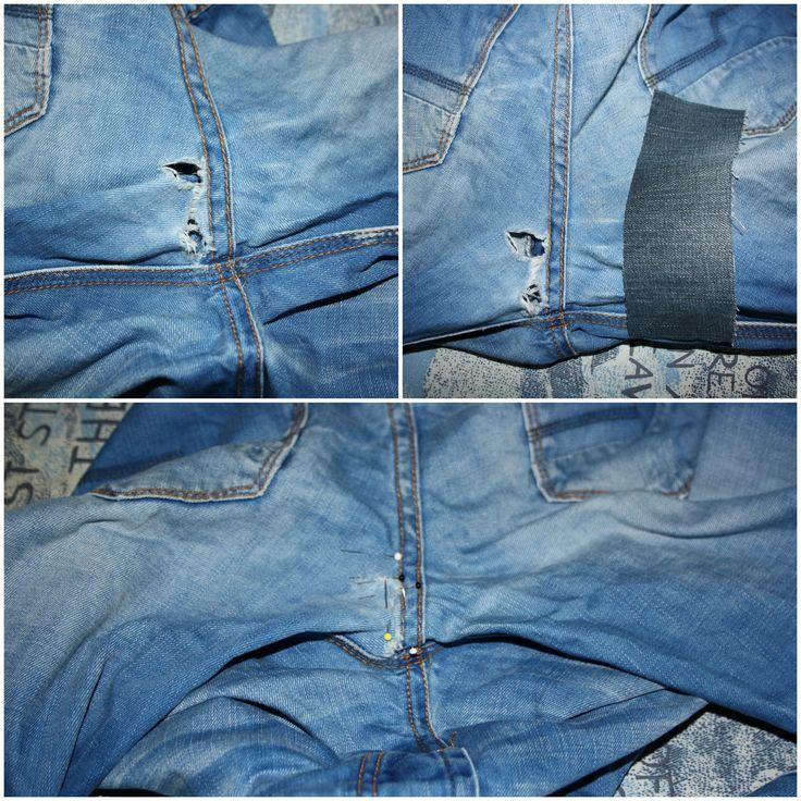 fix it - Reparieren ist nachhaltig #5 | Jeans flicken