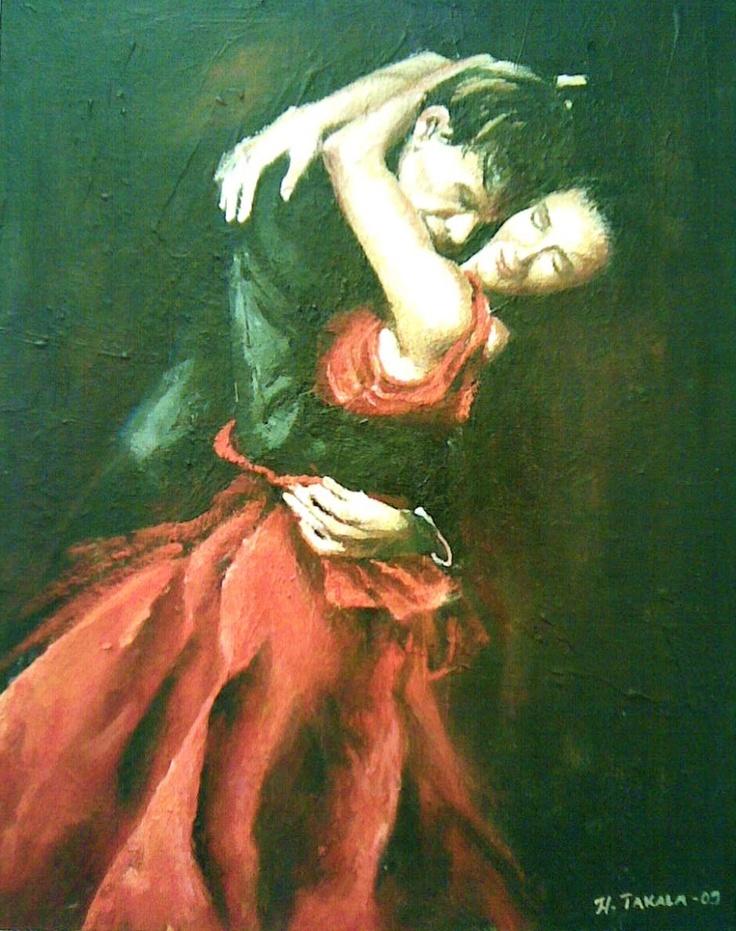 an oil painting by Henna Takala
