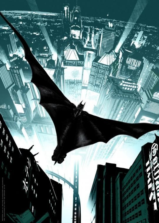 Batman: Arkham Knight by Ronan Toulhoat