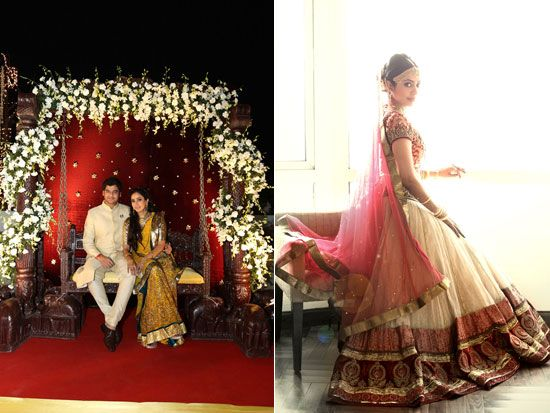 really love her veil dupata!!  a must....WeddingSutra Editors' Blog » Blog Archive » A Grand Gujarati and South Indian Wedding in South Mumbai