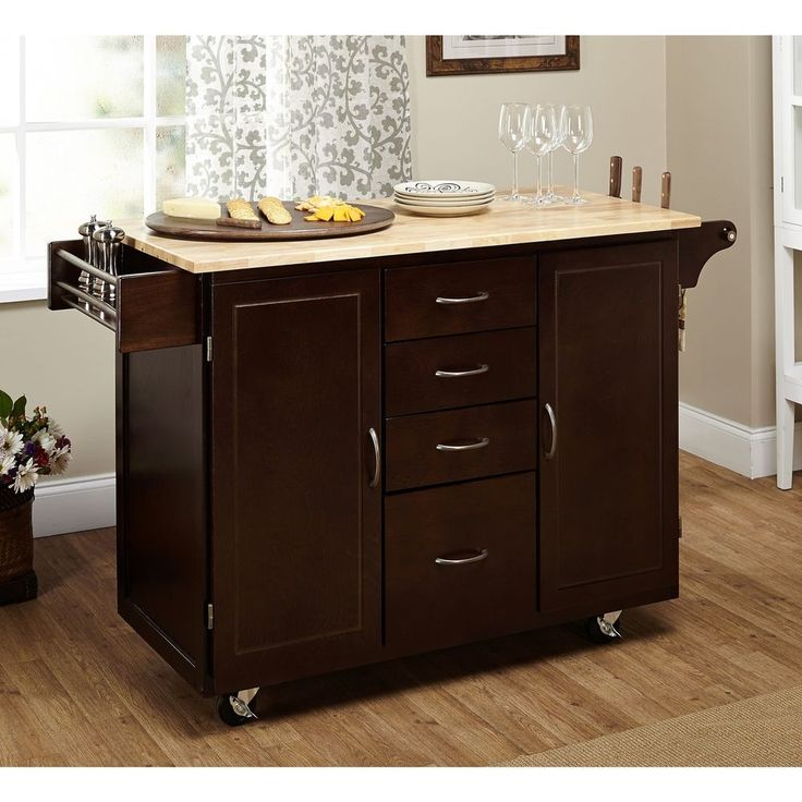 17 Best Ideas About Rolling Kitchen Cart On Pinterest Small Island Moveable Kitchen Island