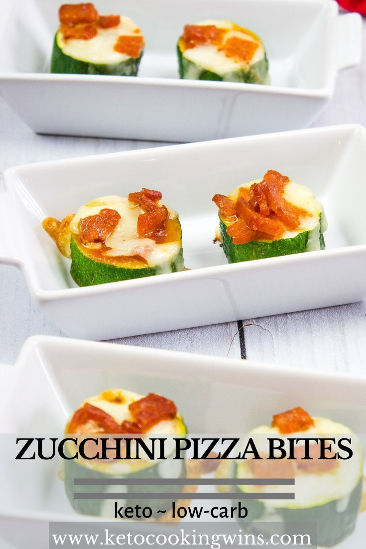 Craving pizza but don't want the carbs? These fun, tasty, and easy to make Zucchini Pizza Bites are loaded with your fav…