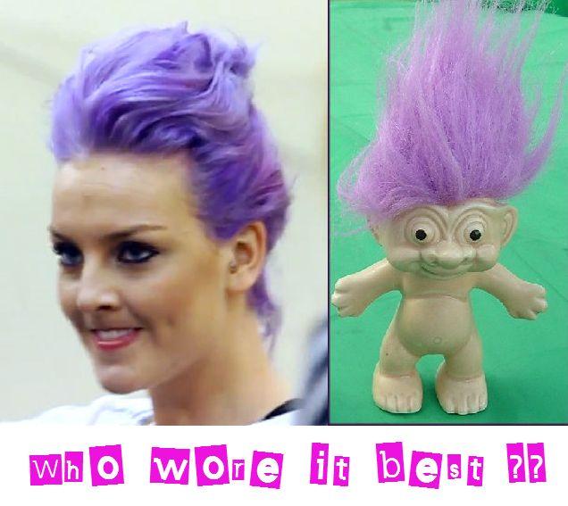 Who wore it best? Mmmm.... the troll.