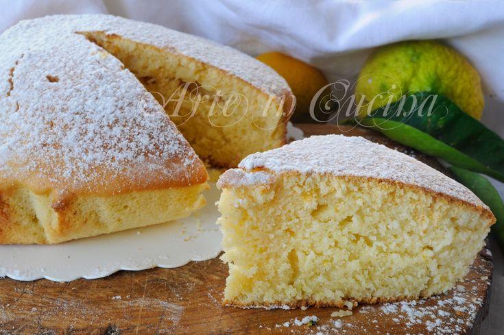 Torta soffice al limone e miele ricetta veloce vickyart arte in cucina