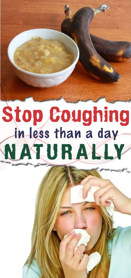 Stop coughing in less than a day naturally