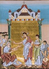 Liuthar Gospel (Christ Walking on Feet of Disciples) - see ARH 3728 Class Notes 1-26-12