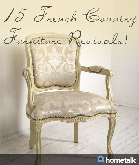 Nice Refinished French Furniture Idea Box By Lisa @ {createinspire} Nice Ideas