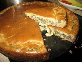 Вкусные рецепты: Супер нежный пирог с капустой и мясом