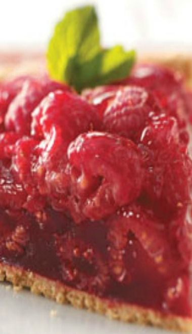 Fresh Raspberry Pie...This was my Grandma's recipe, it tastes like summer :,)
