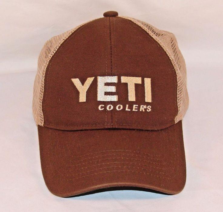 Yeti Coolers Official Truckers Mesh Snapback Adjustable Baseball Cap Hat #Yeti #BaseballCap