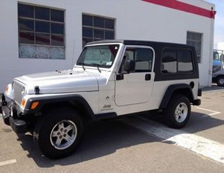 Jeep Unlimited 2 Piece Hardtop with sliding side windows for 2004-2006 Jeep Unlimiteds (Rally) $1945