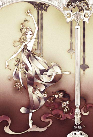 "Art by Kashima. ""Black Swan"" 「黒鳥」"