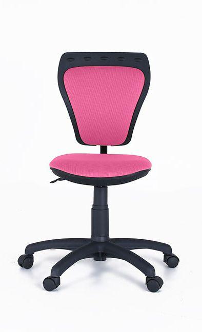 schöner Kinderdrehstuhl Ministyle | Dieser ergonomisch geformte Schreibtischstuhl wird mit seinem pinken Bezug schnell zum neuen Lieblingsplatz. #MoebelLETZ