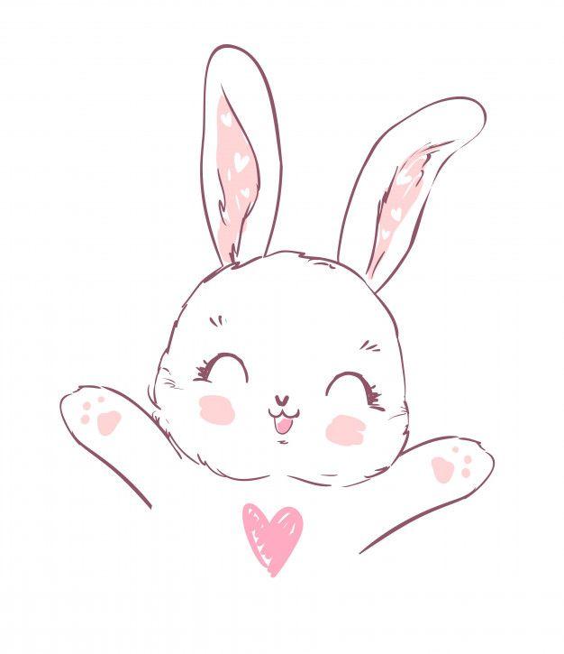 Cute Cartoon Easter Day Bunny Picture Cute Bunny Cartoon Animated Desktop Backgrounds Cartoon Wallpaper Iphone