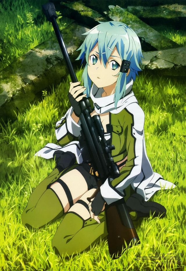 Gun Gale Online - Sinon #swordartonline #anime