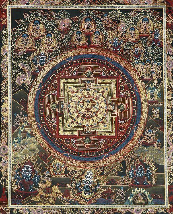 Sakyamuni Buddhist Mandalu