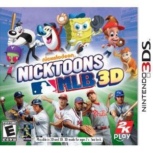 Nicktoons MLB 3D from 2KPlay3Ds Games, League Basebal, Nintendo Ds, Mlb 3D, Jimmy Neutron, Major League, Nicktoons Mlb, Nintendo 3Ds, Gameplay Mode