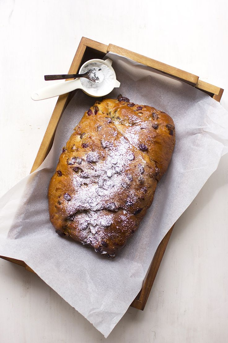 Cranberry & Pistachio Stollen // The Sugar Hit