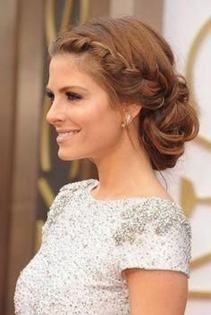 Wedding hairstyle open sideways #shortweddinghairstyles