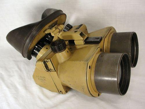 Rare Ww2 German Df 10x80 Dkl Flak Binoculars By Josef