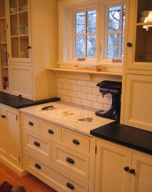 Baking station: Kitchens, Baking Area, Dream House, Baking Station, Kitchen Ideas, Baking Center, Bakingstation