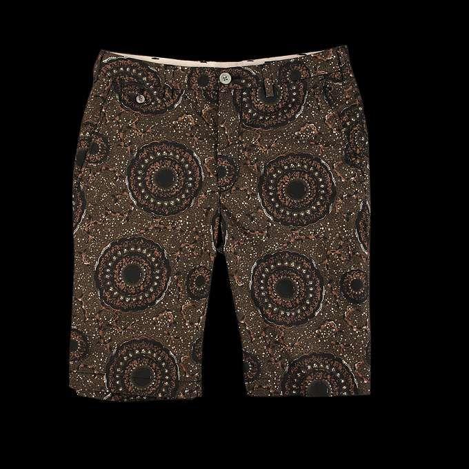 Beams+ PF-DK Batik Shorts