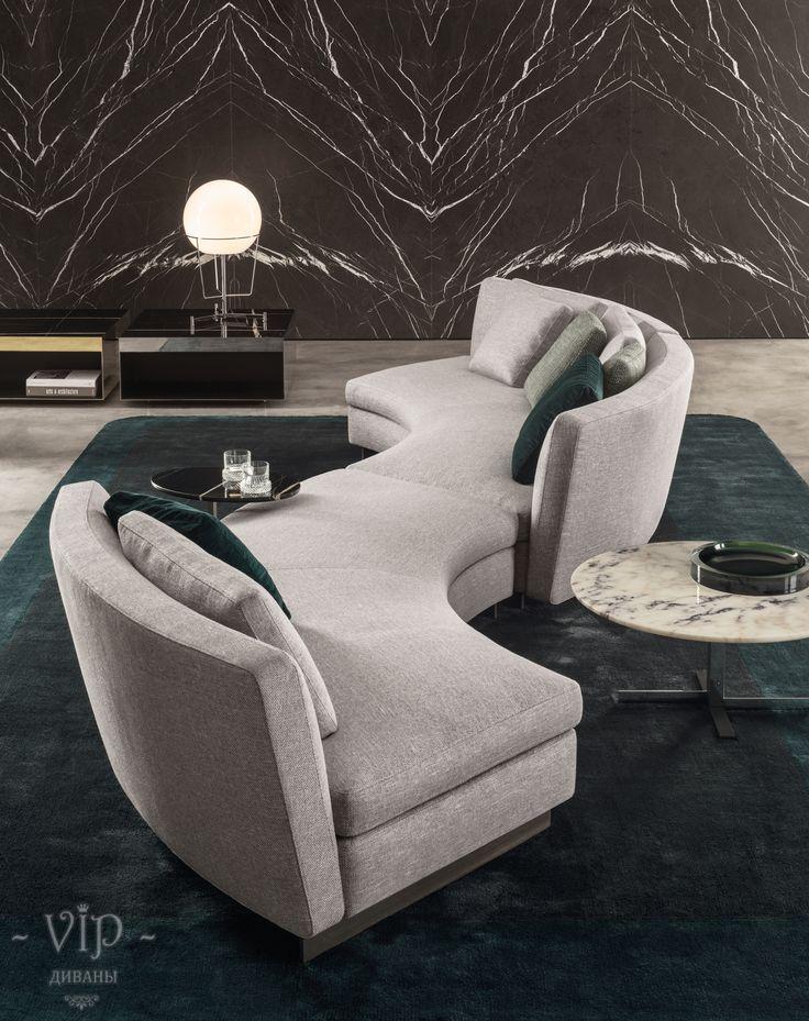 Эркерные диваны на заказ в Москве. Купить эркерный диван для гостиной, кухни со спальным местом