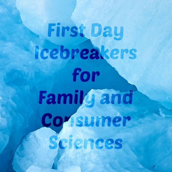 First Day of School Icebreakers for Family and Consumer Sciences Classes | Kayla…