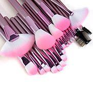 22-delige+hoge+kwaliteit+professionele+make-up+kwastenset+met+roze+handvat+–+EUR+€+17.63