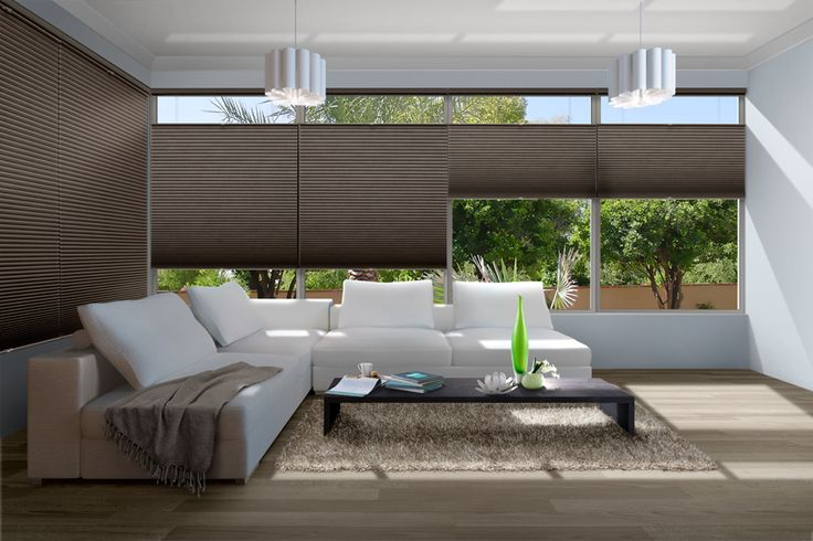 Shades that provide the ultimate in versatile light control, privacy and style to any room. #luxaflex #energy #efficient